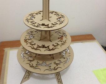 Eiffel tower cupcake stand, vintage look