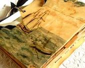 Vintage Journal. Writing Journal. Diary Journal. Notebook Journal. Smash Book. Junk Journal. Planner Journal. Scrapbook. Coffee Stained.