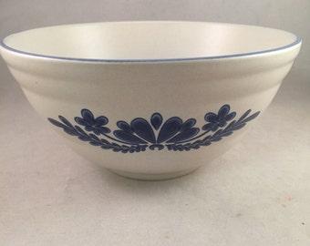 Vintage Pfaltzgraff Yorktown Serving Bowl, Mixing Bowl