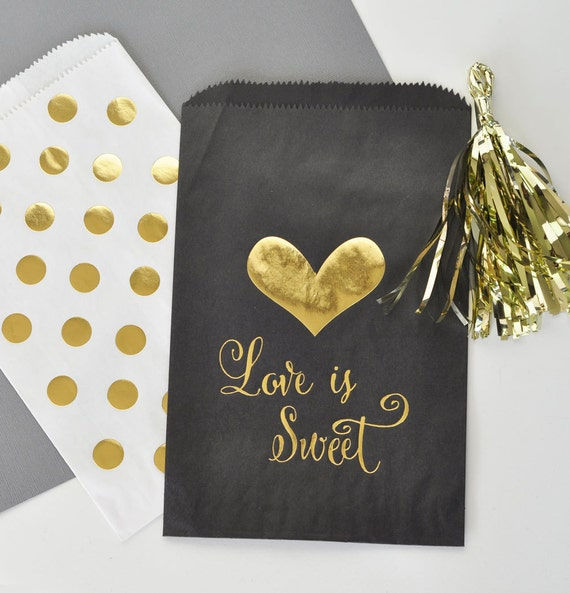 Candy Bags For Wedding: Wedding Candy Bar Bags Dessert Bar Bags Wedding Sweet