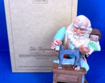 "1988 Toymaker Third In Series ""Stitched With Love"" Hallmark Figurine"