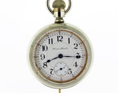 Hampden Watch Co Pocket Watch 21 Jewel Movement