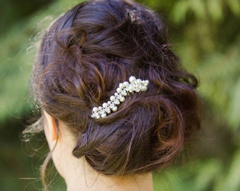 Comb bridal pearls and crystals, very class and glamour