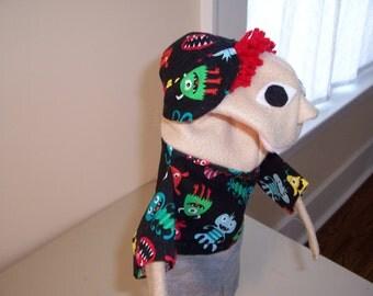 Little monster  puppet for 15 dollars