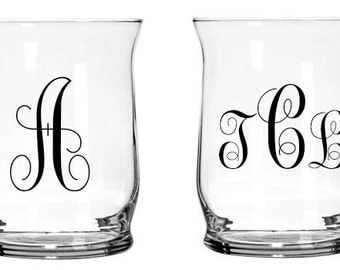 "4"" Glass Hurricane Candle Holder 