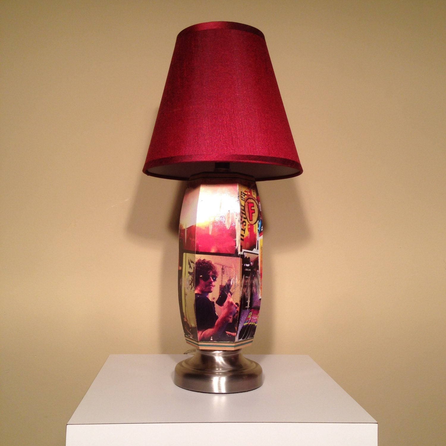 Recycled Skateboard Lamp By 7ply On Etsy