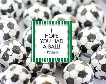 I Hope You Had a Ball Favor Tags- Sports Theme Birthday Party Favor Tags- Sports Theme Favor Tags- I Hope you Had a Ball Favor Tags
