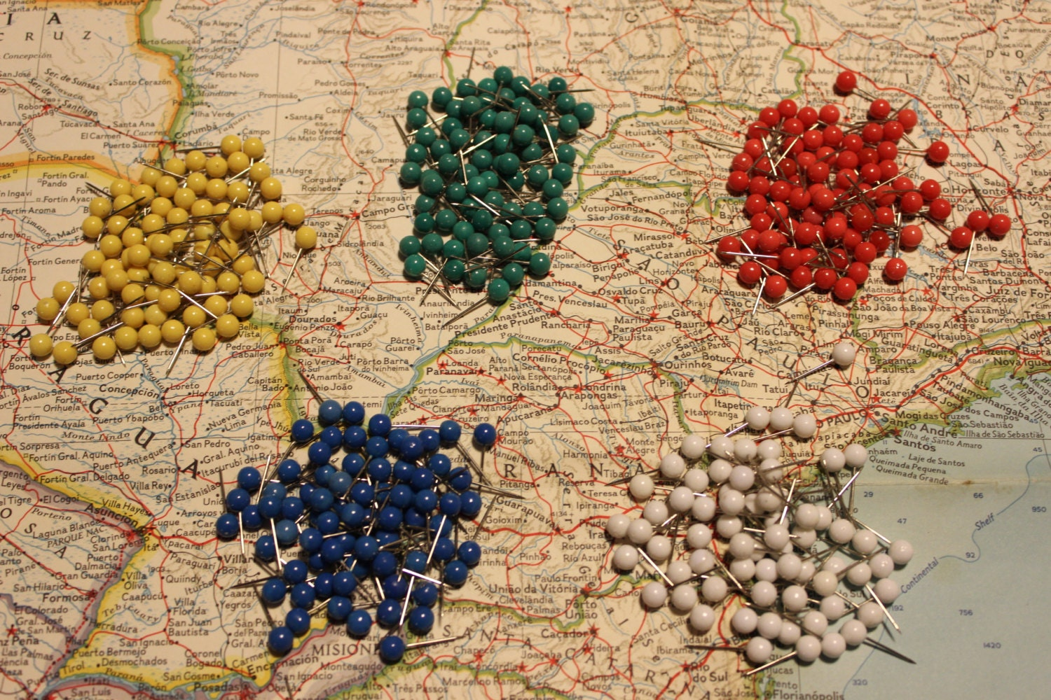 Set of Push Pins for Travel Map World Map by AnAdventureAwaits – Push Pin Travel Maps