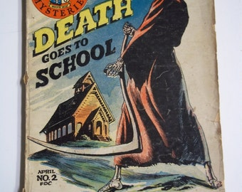 Death Goes to School by Q. Patrick Banner Mysteries #2 1936