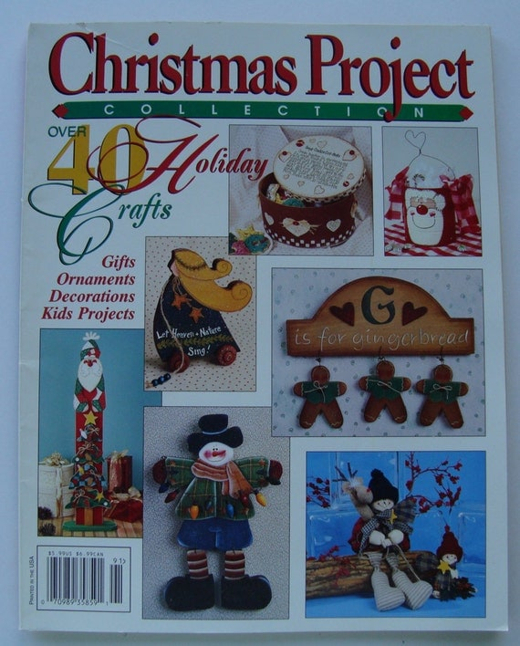 40 Christmas Craft Ideas To Try This Year: Christmas Project Collection 40 Holiday Crafts Patterns/