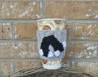 Chicago White Sox Coffee Cup or Water Bottle Sleeve / Cozy! Perfect accessory for your drink!
