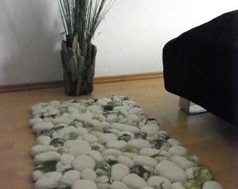 Cushion Felt Stones Pebbles
