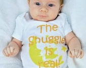 Newborn Outfit The Snuggle is Real Newborn Take Home Outfit Coming Home Outfit Going Home OutfitFunny Newborn Outfit Baby Shower Gift