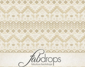 Tribal Pattern Photography Backdrop Earth Tone (FD2196)