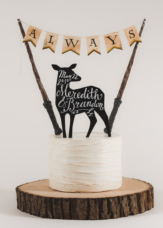 Items Similar To Always Harry Potter Inspired Wedding
