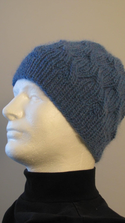 Knitting Hat Patterns For Men : Knitting pattern for men s knitted hat dane