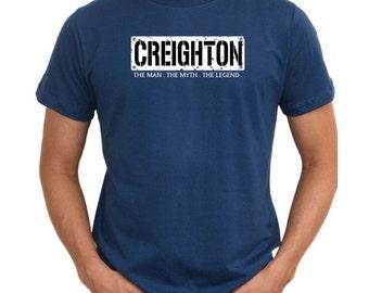 Creighton The Man The Myth The Legend T-Shirt
