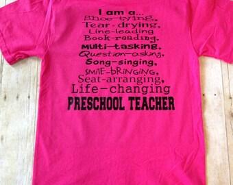 Daycare Teacher Shirt, Preschool Teacher, Pre-K Teacher Shirt, Kindergarten Teacher, Director, Daycare Provider, Daycare Owner Shirt