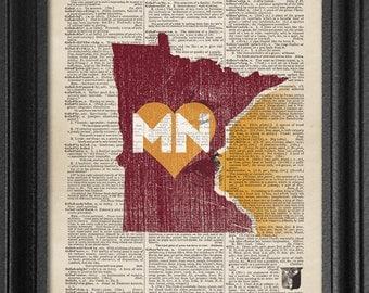Dictionary Art - Minnesota College