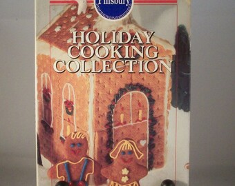 Pillsbury Holiday Cooking Collection a cookbook set