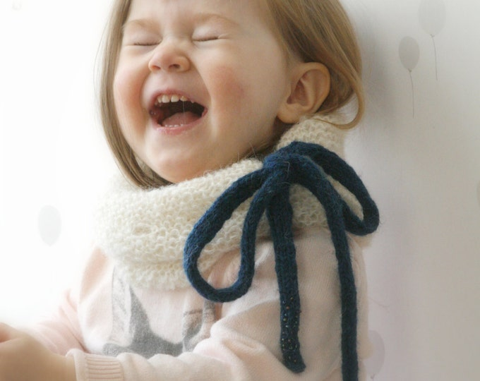 KNITTING PATTERN  collar /cowl / neck warmer Irene (toddler/child/adult sizes)
