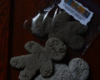 HOODOO BISCUIT ~ Voodoo Cookie - Religious Curio - Occult Supply - Macabre - Ceremonial Tool - Includes Instructions and One or Two Biscuits