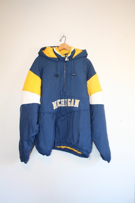 MICHIGAN COAT // size mens x large // 90s // jacket by