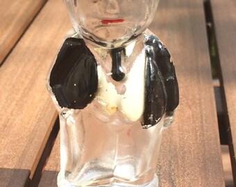 Vintage Mr. Peanut Perfume Bottle