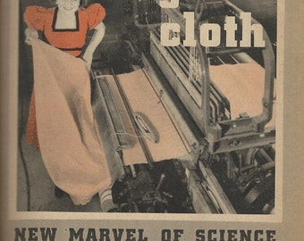1930s glass cloth advertising  magazine cover download
