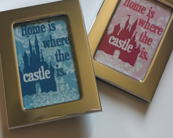 """DISNEY MAGNETS - Show your """"home"""" is near one of Disney's castles with these magnets! 