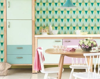 auto adh sif temporaire amovible papier peint en vinyle par betapet. Black Bedroom Furniture Sets. Home Design Ideas