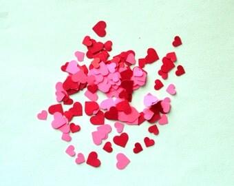 Valentine's Day Heart Confetti - Heart Confetti - Red Heart Confetti - Pink Heart Confetti - Valentine's Day Decoration - Valentine Confetti