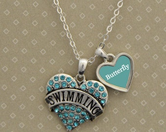 Custom Style Swimming Necklace