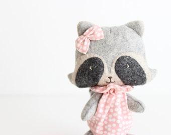 Stuffed Animal Custom | Miss Raccoon