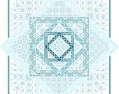 Quakerish - a counted cross stitch design (PDF pattern)