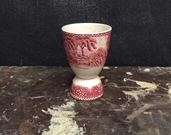 Vintage Adams Transferware Egg Cup