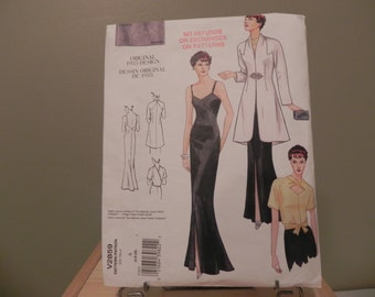 Vogue Vintage Pattern. Size 6-8-10