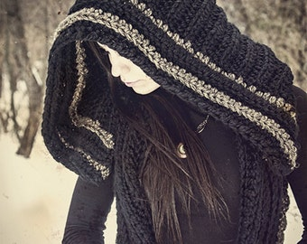Elvish Vest with Large Hood