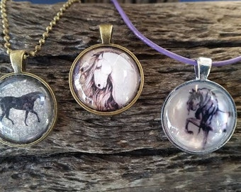 Pony Pendants - Vintage collection-