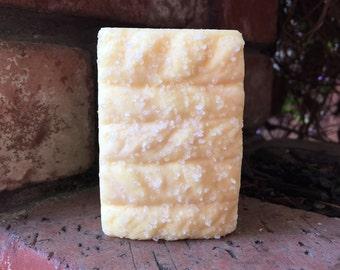 LEMONGRASS Sea Salt Soap, Handmade Soap, Cold Process Soap, Detoxing Soap