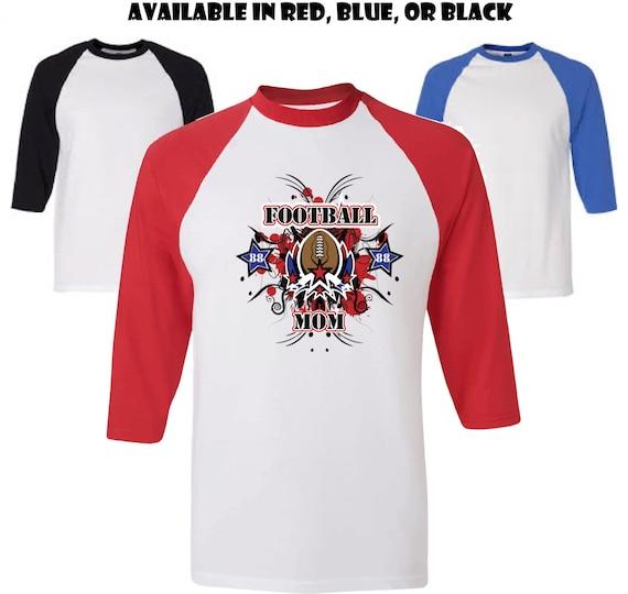 Football Mom Shirt Personalized Football Mom Shirt