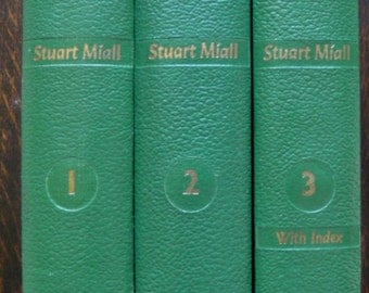 The Caxton World of Science, Stuart Miall, 3 volumes