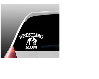 Wrestling Mom, Dad or Grandparent Car Window Decal