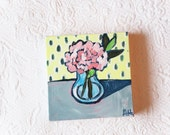 Primrose 6x6 Mini Painting
