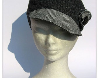 hat cap newsboy denim black jeans sportiv elegant