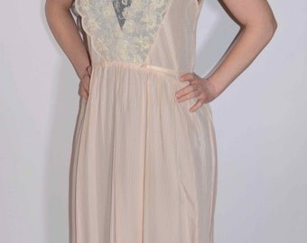 Vintage Light Pink Nightgown
