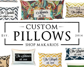 Custom pillow.Custom pillows.scripture pillow.decor pillows.pillow.pillows.text pillow.saying pillows.personalized pillow (Custom Pillow)