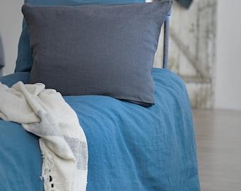 Washed Linen Pillowcases | Handmade Linen Pillowcases | Soft Linen Pillowcases | Bed Set | Home Decor | Bedding | Duvet | Handmade