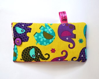 SALE Handmade Phone or specs case/sleeve/pouch, Samsung S4, iPhone 4s, iPhone 5, iPod