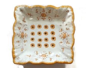 Antique French Ceramic Fruit dish Martres Tolosane